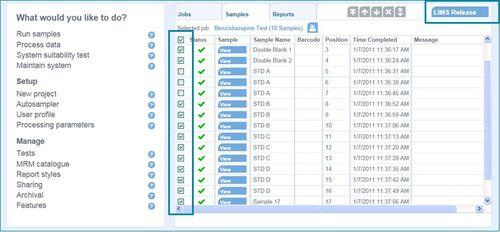 分析软件模块 / 可视化 / 报告 / 筛查