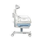 滑轮婴儿辐射保暖台 / 高度可调节