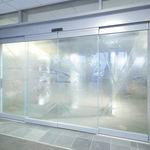滑动门 / 用于医院 / 玻璃 / 自动