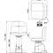 眼科检查椅 / 电动 / 可调高度 / 双台面