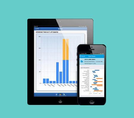可视化的iOS应用程序 / 记录 / 分析 / 实验室