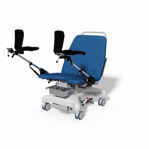 妇科检查椅 / 电动 / 带滑轮 / 特伦德伦伯卧位