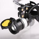 牙科医用头灯 / LED式 / 充电电池 / 便携式光源