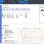分析软件 / 报告 / 控制 / 判断框