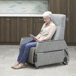 全身检查椅 / 电动 / 滑轮 / 斜躺式
