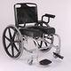 手推轮椅 / 淋浴间 / 带脚托 / 折叠
