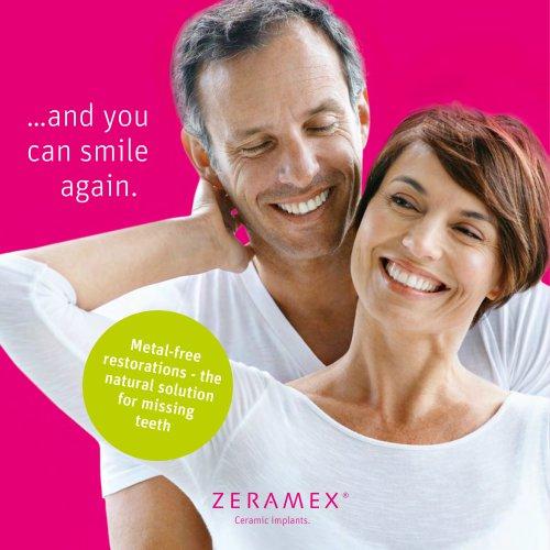 ZERAMEX® Patient Brochure