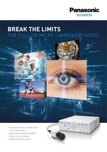 GP-UH332 3MOS 2K Camera Brochure