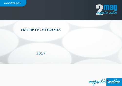 2mag Magnetic Stirrers