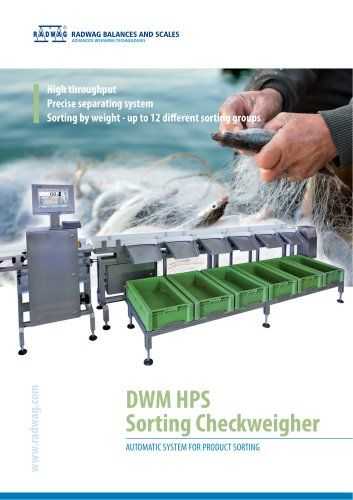 DWM SORTING CHECKWEIGHER