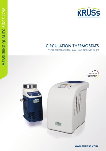Circulating thermostats from A.KRÜSS Optronic