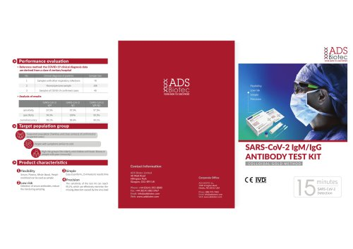 SARS-CoV-2 IgM/IgG ANTIBODY TEST KIT