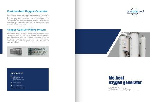 AmcareMed Oxygen Generator System