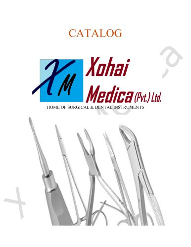 Xohai Medica Surgical Catalogue