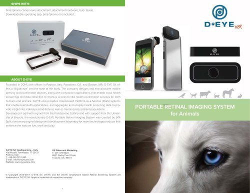 Digital Ophthalmoscope Veterinary