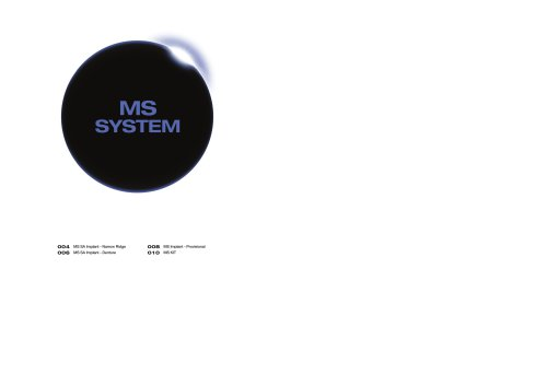 MS Implant System