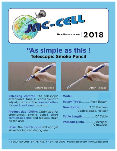 Teloscopic Smoke Pencil
