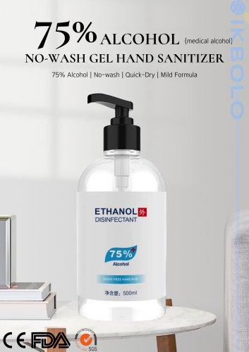 75% hand sanitizer / 500 mL / 300 mL / 60 ml
