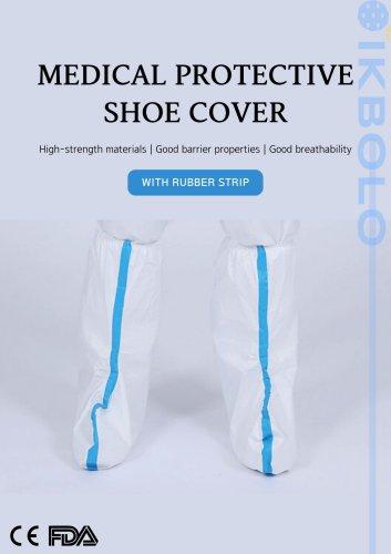 non-woven medical shoe cover / breathable