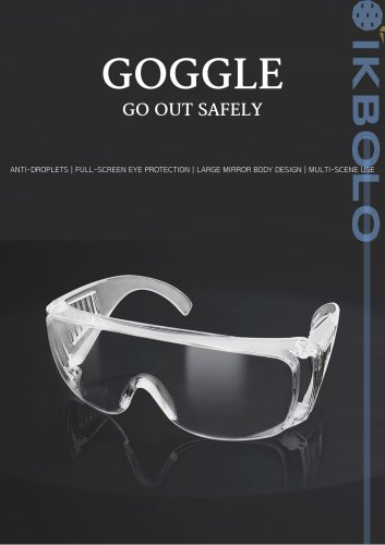 Personal Protection Google Safety Glasses