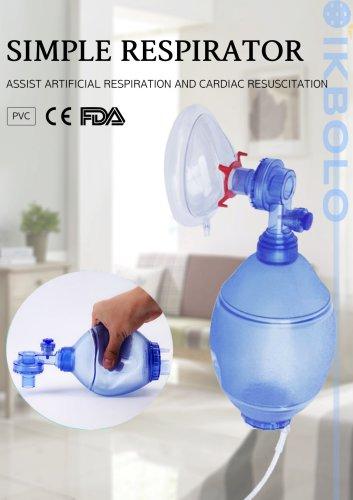 PVC breathing bag / disposable
