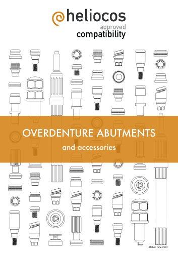 Heli-Loc overdenture abutments