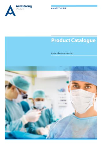 Anaesthesia Product Catalogue - 2013
