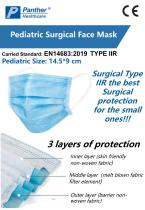 Pediatric Surgical Face Mask Type IIR non-sterile Catalogue