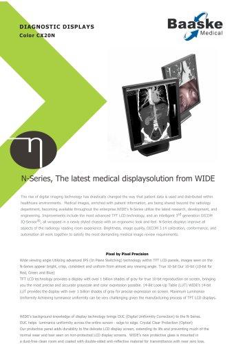Wide Diagnostic Display CX20N 2MP