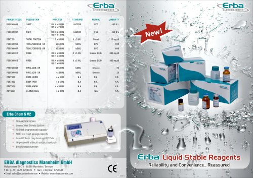 Erba LIQUID STABLE