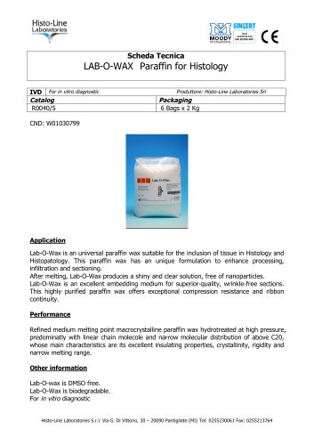 LAB-O-WAX Histological Paraffin