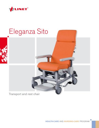 Transport and rest chair - Eleganza Sito