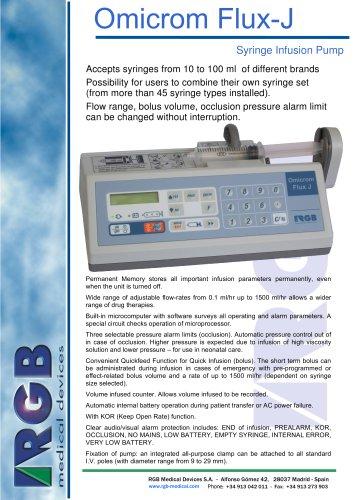 Omicrom Flux-J Syringe