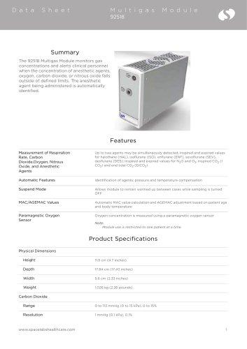 Multigas Module 92518