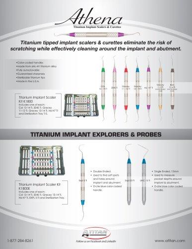 Titanium Implant Instruments
