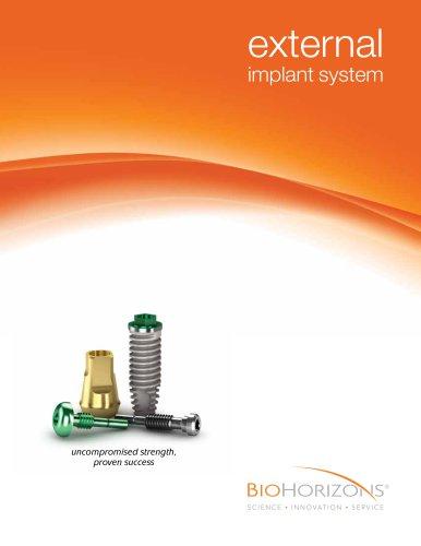 External Dental Implant