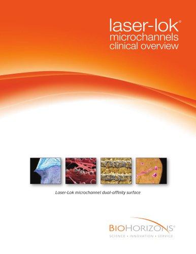 Laser-Lok microchannel dua-affinity surface