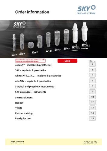 SKY Implant system