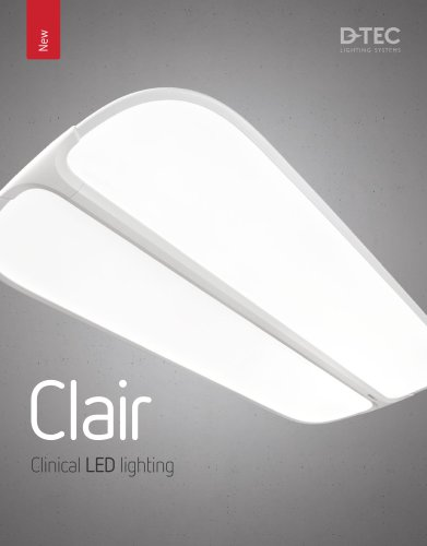 Clair Clinical LED lighting