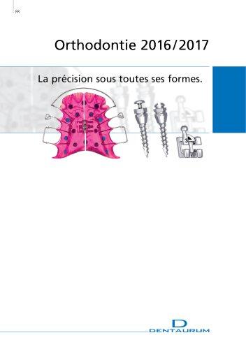 Catalogue Orthodontie