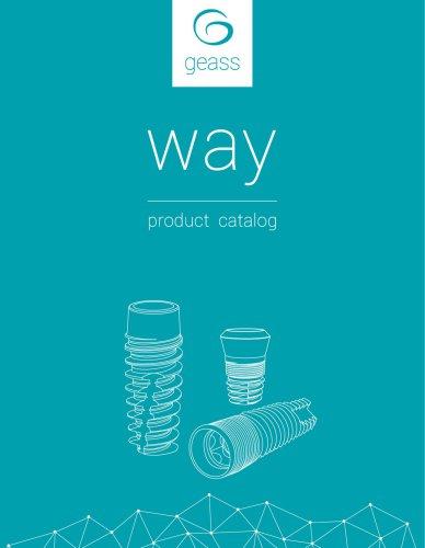 way product catalogue 2017