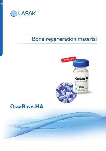 Bone regeneration material