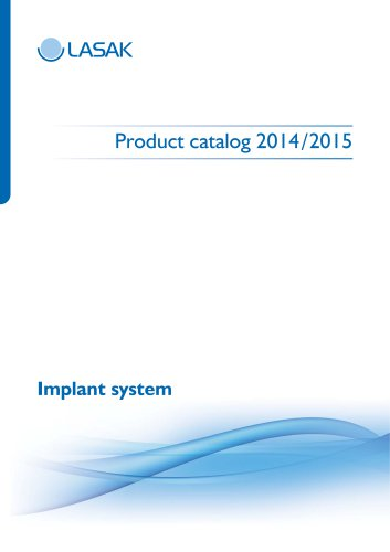 Product catalog 2014 /2015