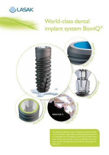 World-class dental implant system BioniQ®