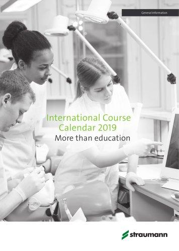 International Course Calendar 2018