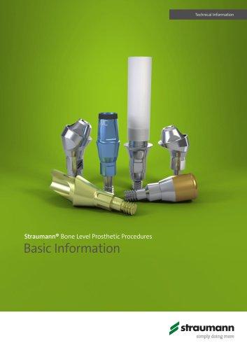 Straumann® Bone Level Prosthetic Procedures