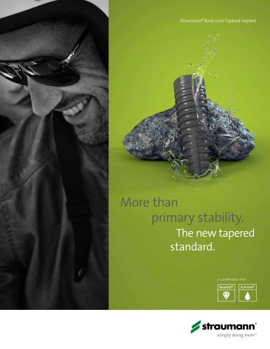 Straumann® Bone Level Tapered Implant