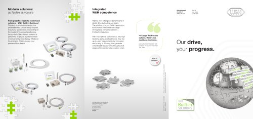 W&H Built-in Solutions für Industriekunden
