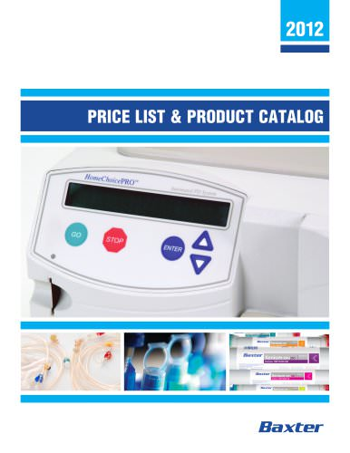 PRICE LIST & PRODUCT CATALOG
