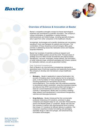Science & Innovation